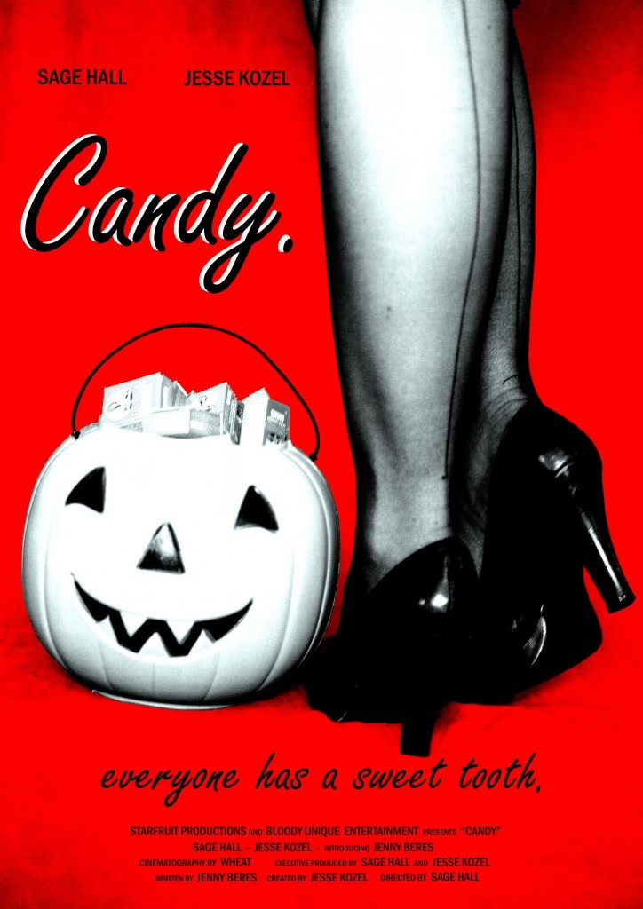"""candy"" ""sage hall"" ""abnorml injustice"" ""Jesse Kozel"" ""jenny beres"" ""wheat"" ""halloween"" ""horror"" ""suspense"" ""trick-or-treat"" ""holiday"" ""theme"" ""marilyn monroe"" ""twilight zone"""